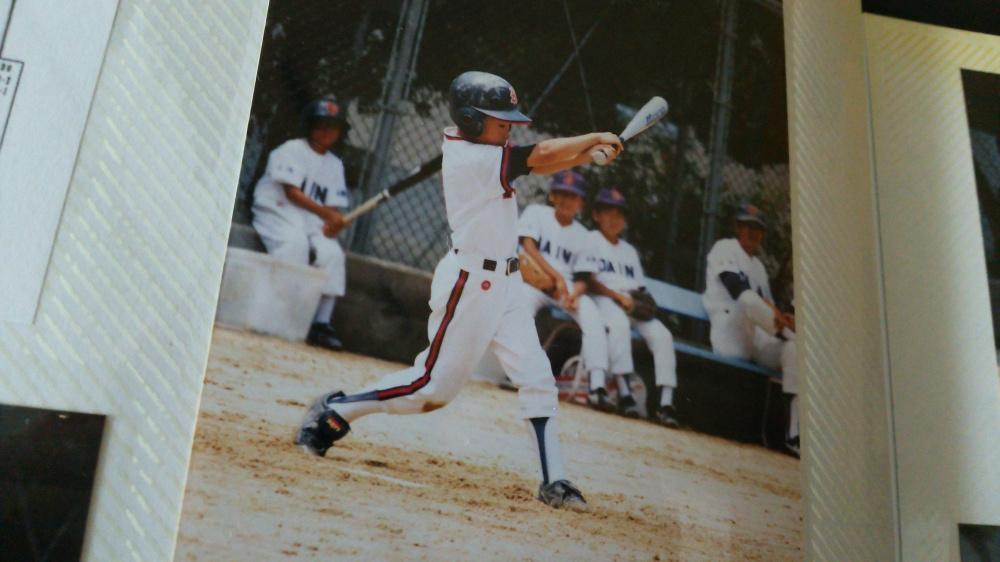 少年野球時代